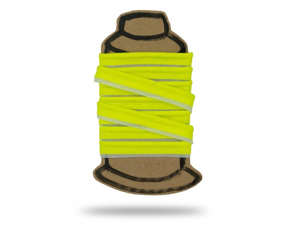 Paspulka reflexná, Žltá