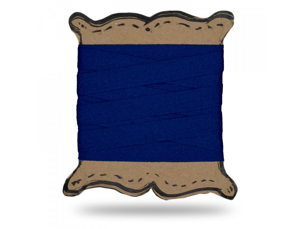 Plátenka tkaloun 1,3 cm, Balenie 3 m, Tm.modrá