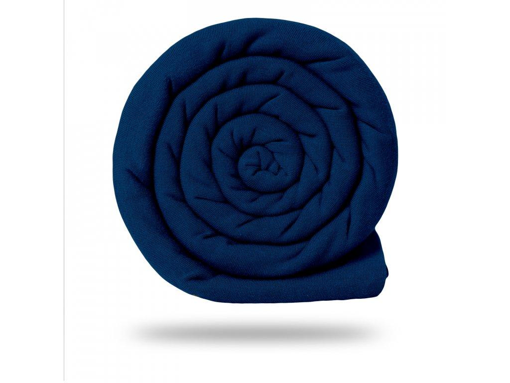 Prémiový funkčný úplet počesaný 190 gs UV 50+, Tm.modrá Kobaltová