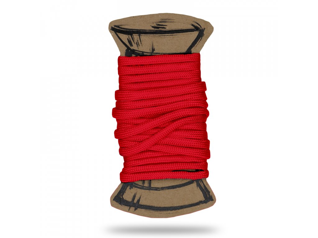 Šnúra padáková, Červená