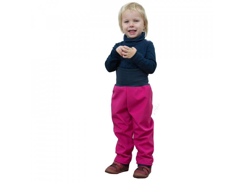 Unuo strih v el.formátu, Detské batoľacie nohavice - užší strih, veľ. 68 až 98