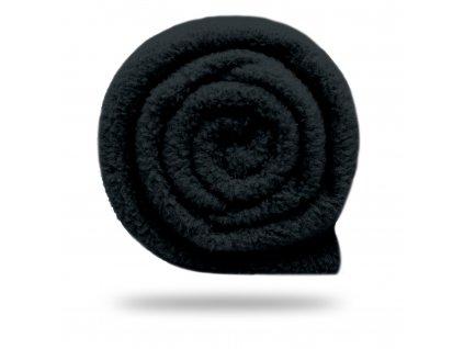 Fleece antipilling 190 g, Čierna