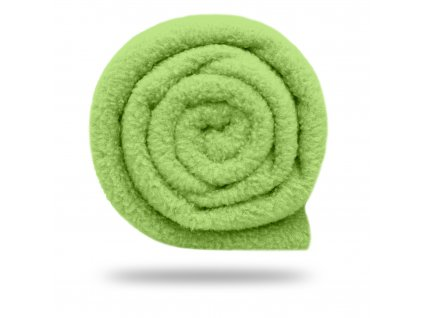 Fleece antipilling 190 g, Limetová
