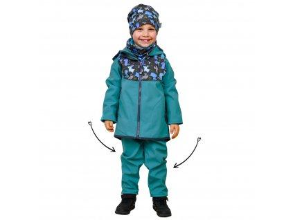 Unuo strih v el.formátu, Detské batoľacie nohavice, veľ. 68 až 98