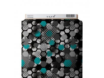 Micropeach, Hexagon, Tm. Šedá