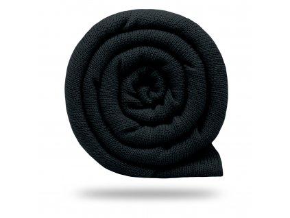 Svetrovina bavlnená 450 g, Čierna