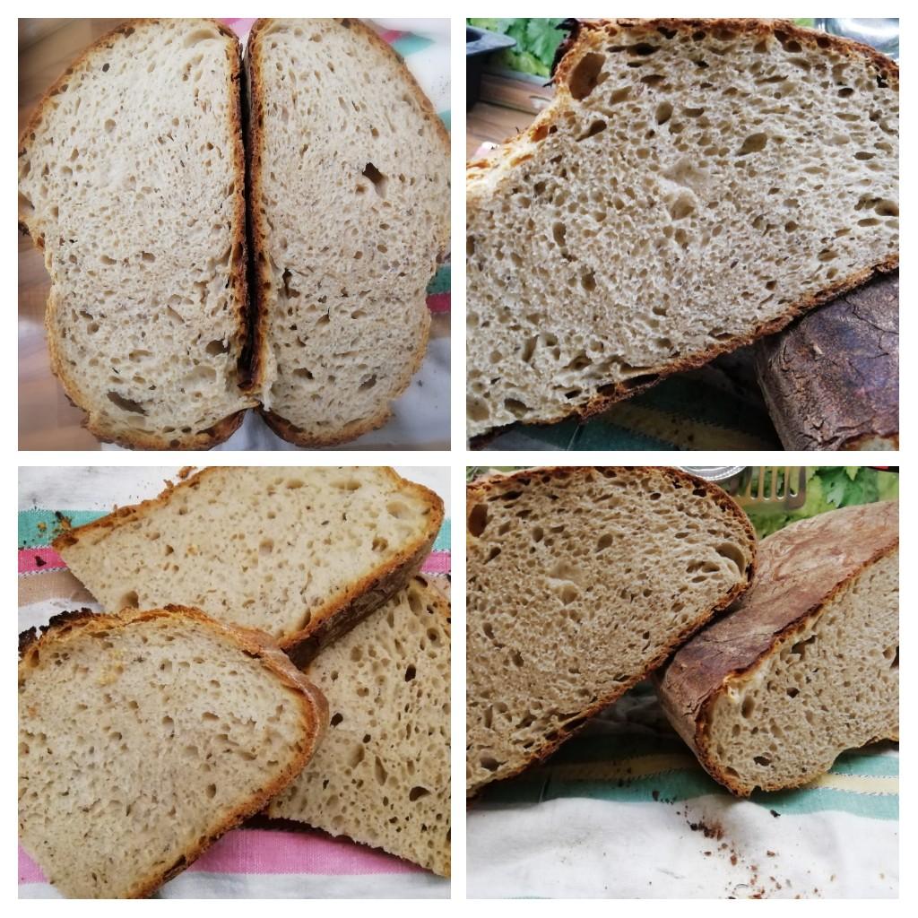 Základní kváskový chléb