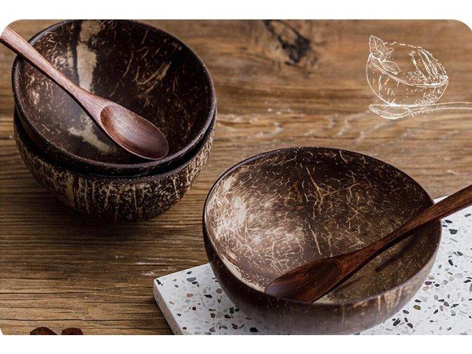 Přírodní miska z kokosu 400ml