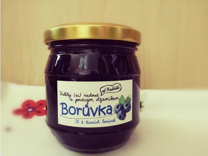 Borůvkový džem