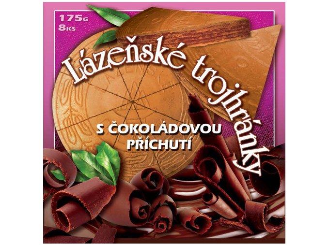 11 lazenske trojhranky cokolada