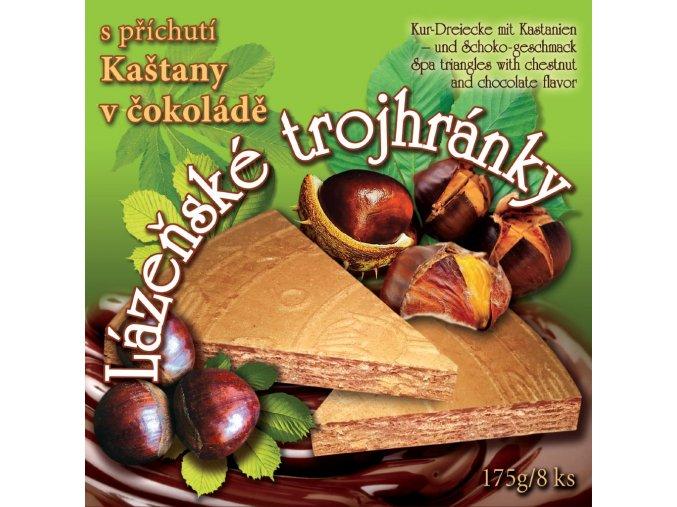 10 lazenske trojhranky kastany cokolada