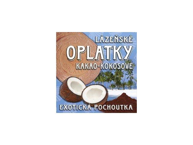 17 lazenske oplatky kakao kokos