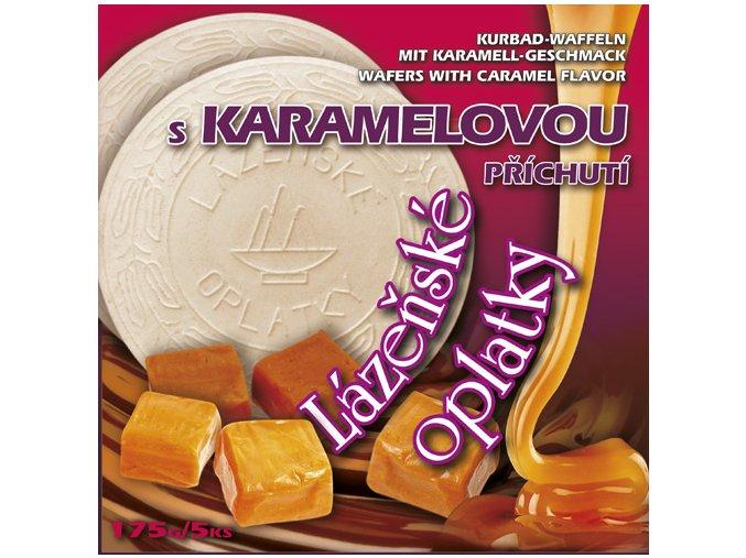 40 lazenske oplatky karamel