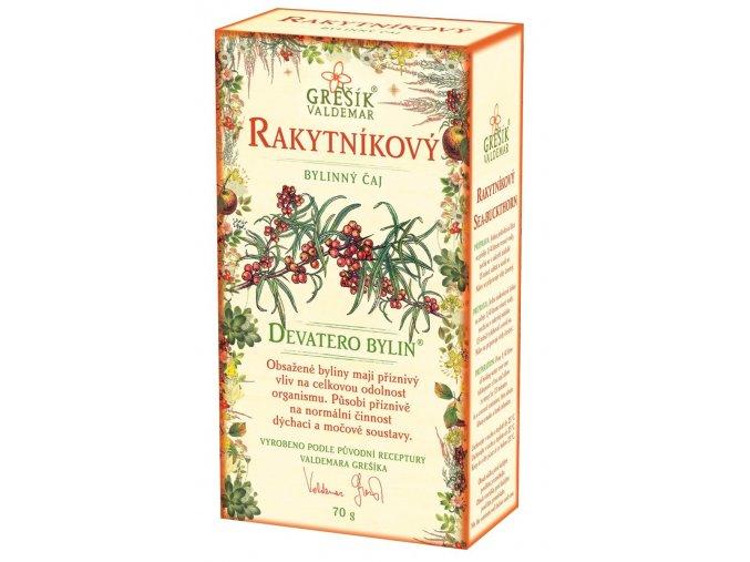 Rakytníkový bylinný čaj