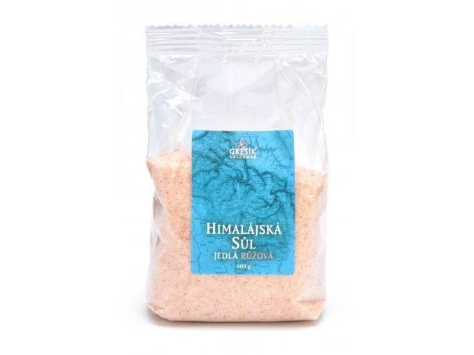 Sůl Himalájská jedlá růžová