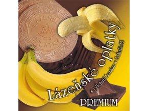12 lazenske oplatky banan cokolada