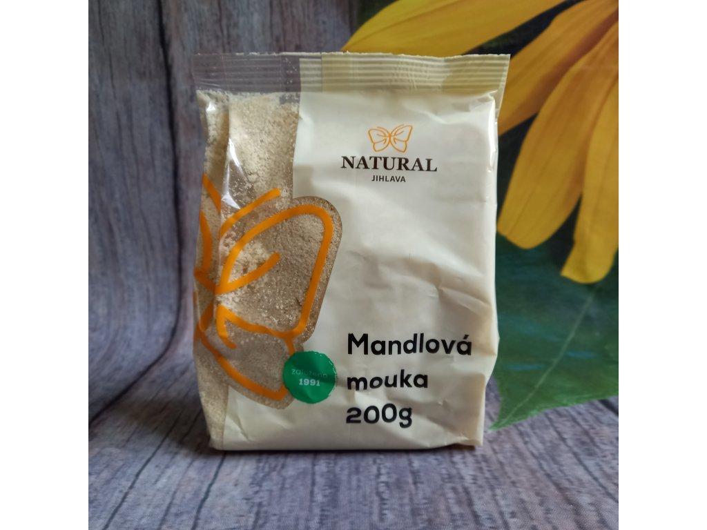 Mandlová mouka jemně mletá - Natural 200g
