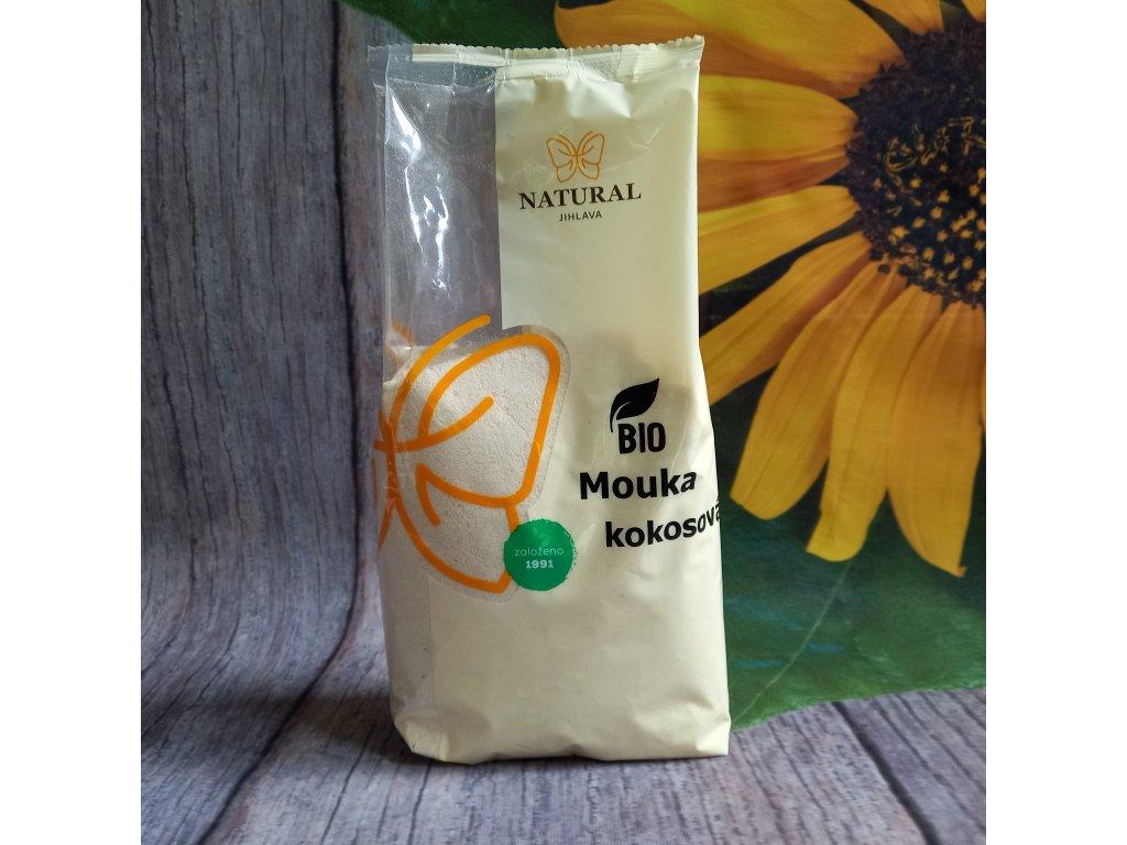 Mouka kokosová BIO jemně mletá - Natural 500g