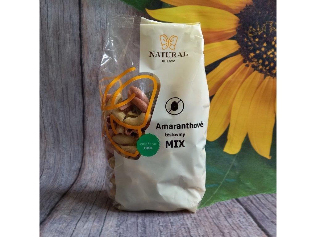 Těstoviny amaranthové mix - Natural 300g