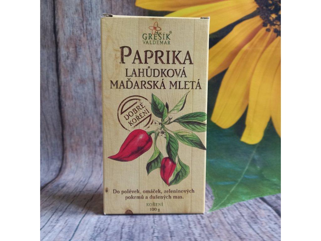 Paprika lahůdková maďarská mletá 100g