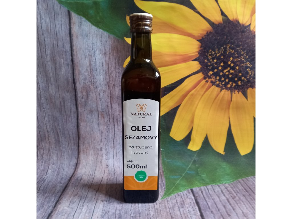 Olej sezamový Natural 500ml