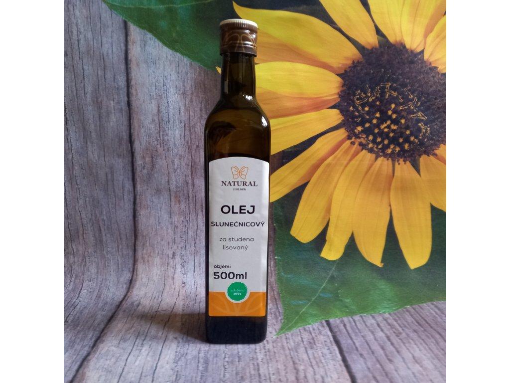 Olej slunečnicový Natural 500ml