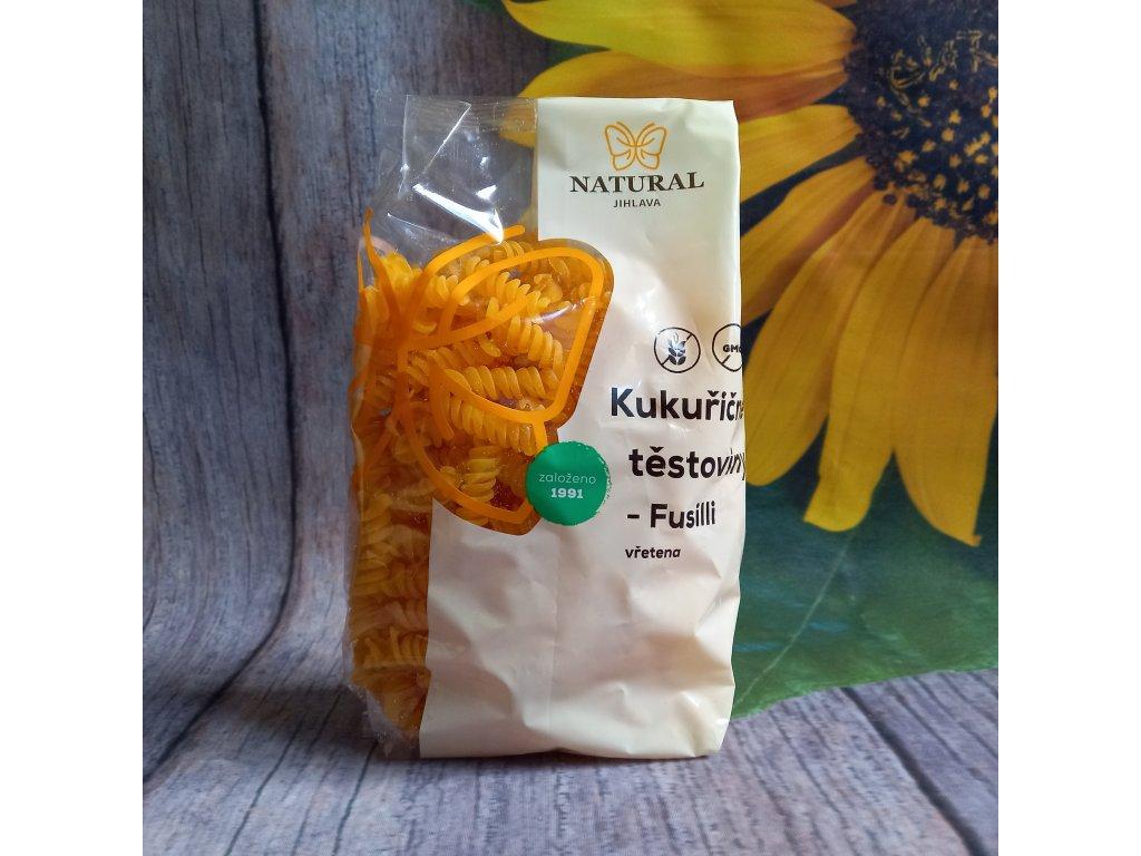 Těstoviny kukuřičné Fusilli (vřetena) 300g
