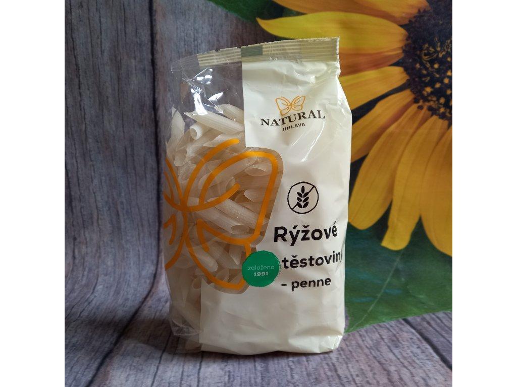 Těstoviny rýžové bez lepku - trubka