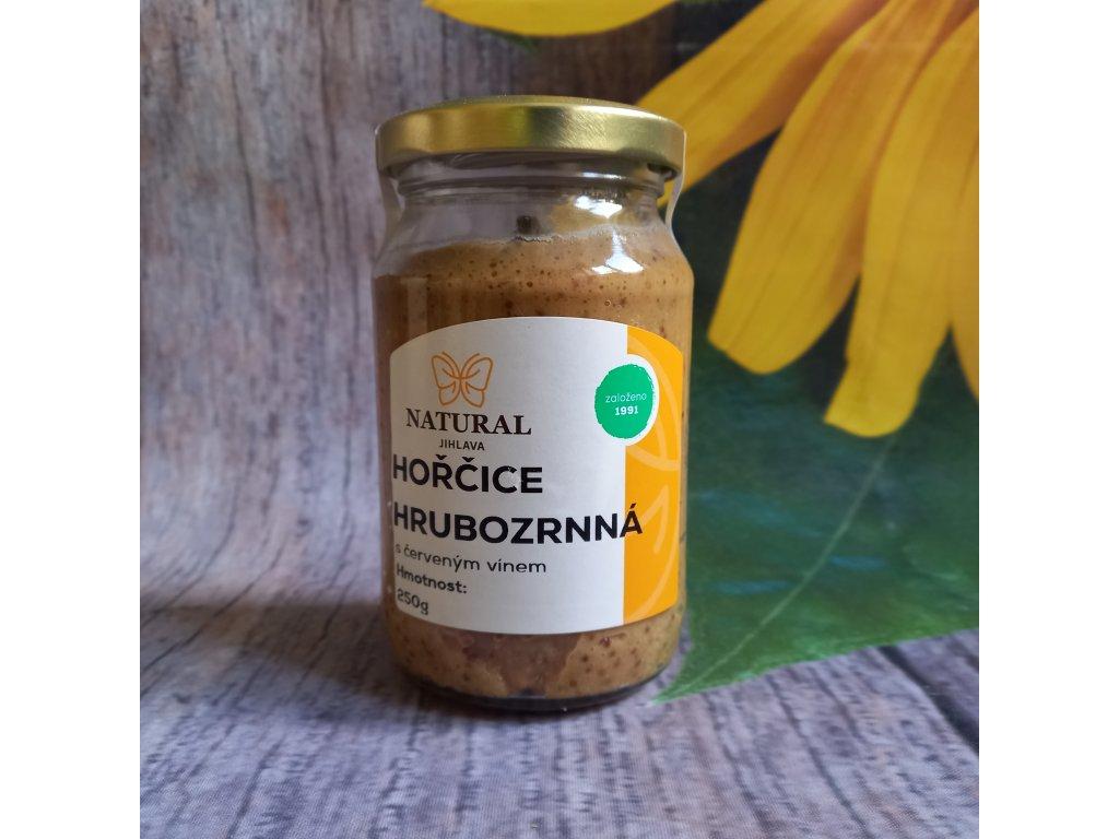 Hořčice kremžská s fruktózou - Natural 250g