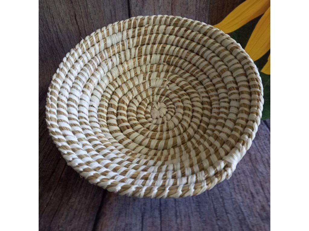Ošatka z mořské trávy kulatá - 4 rozměry