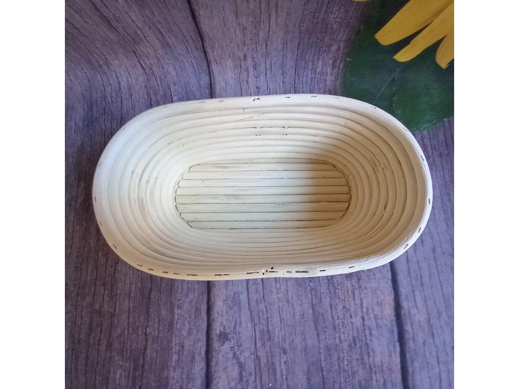 Ratanová oválná ošatka 26 x 13 x 9 cm