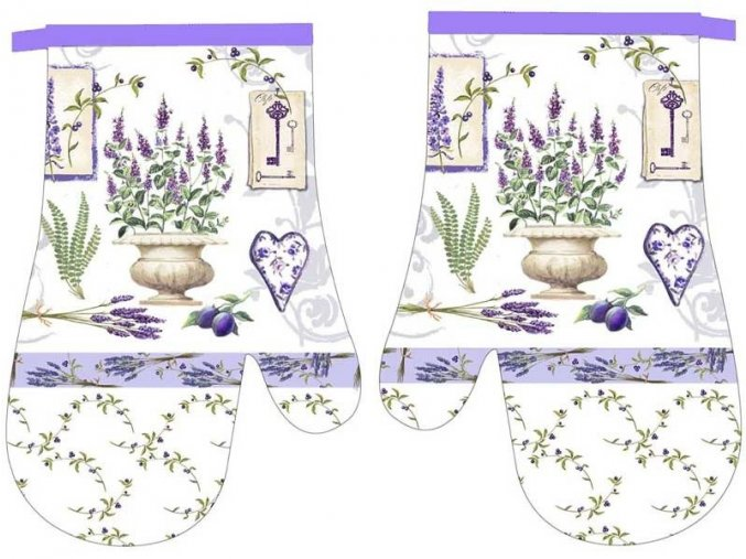 slo pl Kuchynske Rukavice s Magnetom Lavender II 9431B 5930 1