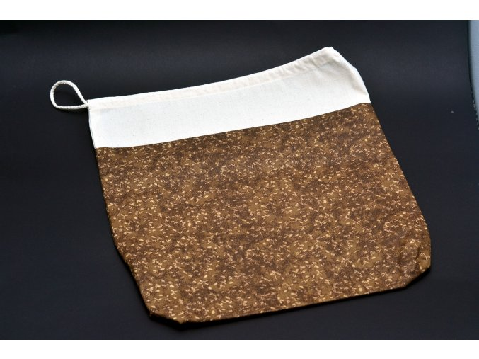 Pytlík na chleba 40 x 45 (100% bavlna a 100% len)