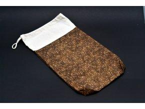 Pytlík na chleba 25 x 45 (100% bavlna a 100% len)