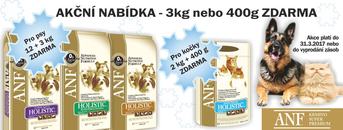 ANF Holistic 12+3 kg