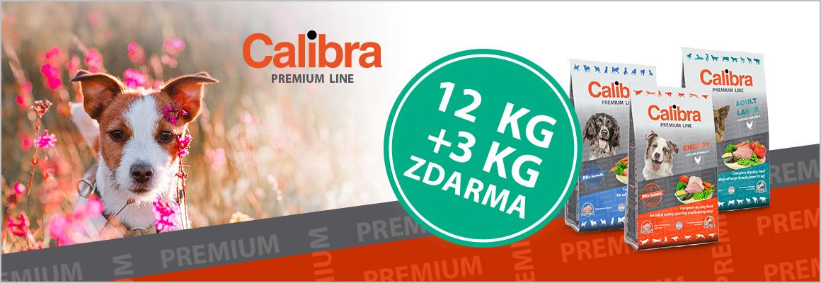 Calibra Premium 12+3kg ZDARMA