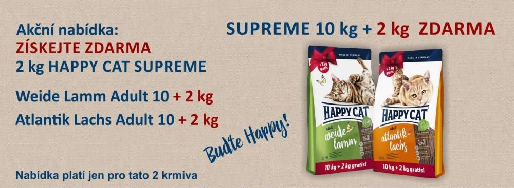 Happy Cat 10+2 kg ZDARMA