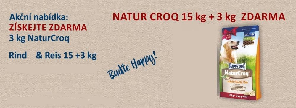 Happy Dog Natur 15+3kg Zdarma