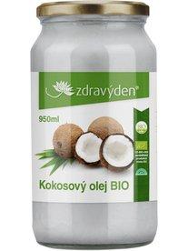 Zdravý den kokosový olej BIO