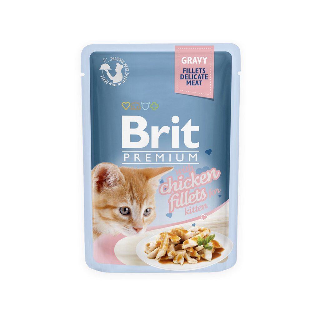 brit kitten chicken f gravy