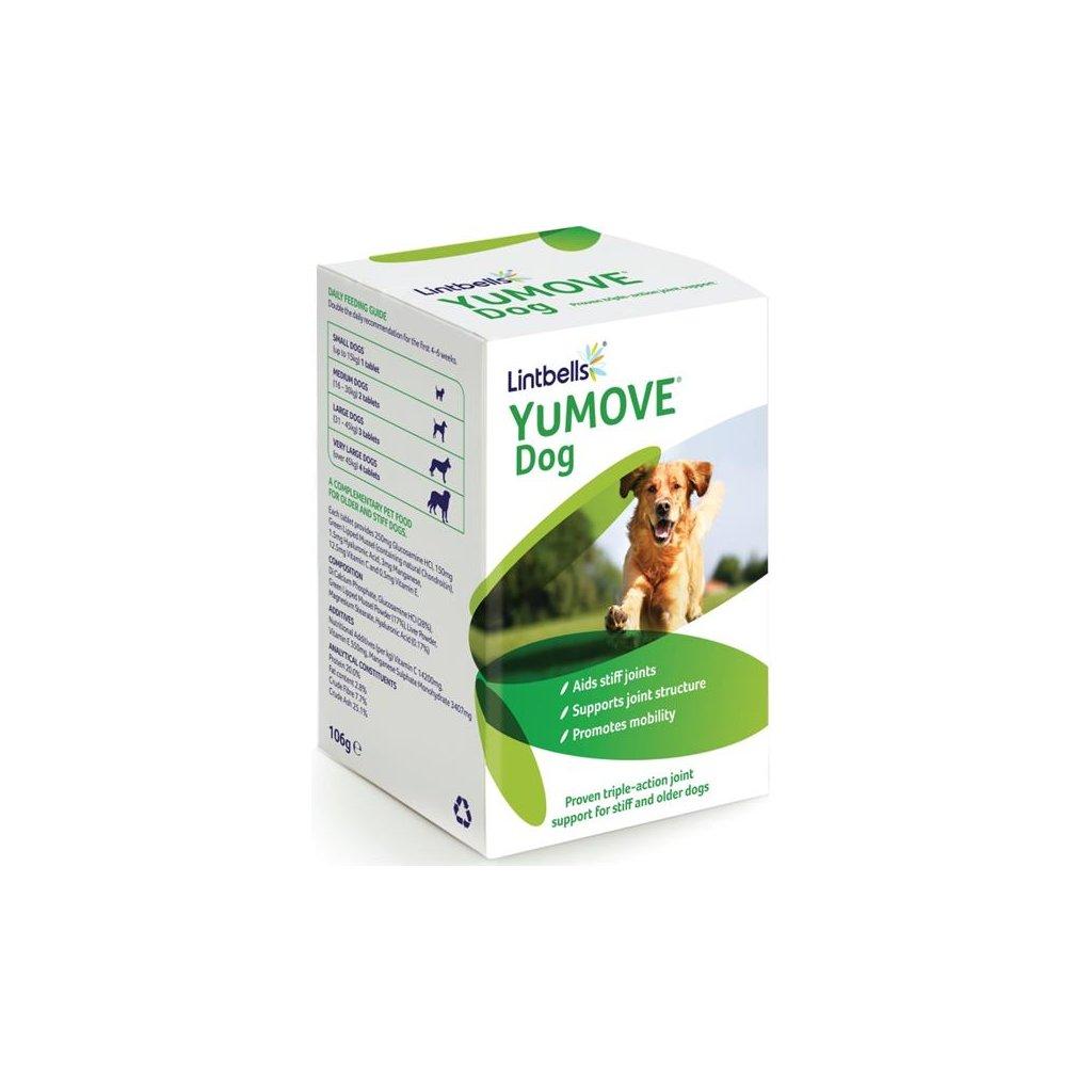 Lintbells YuMOVE pro psy 120 žvýkacích tablet
