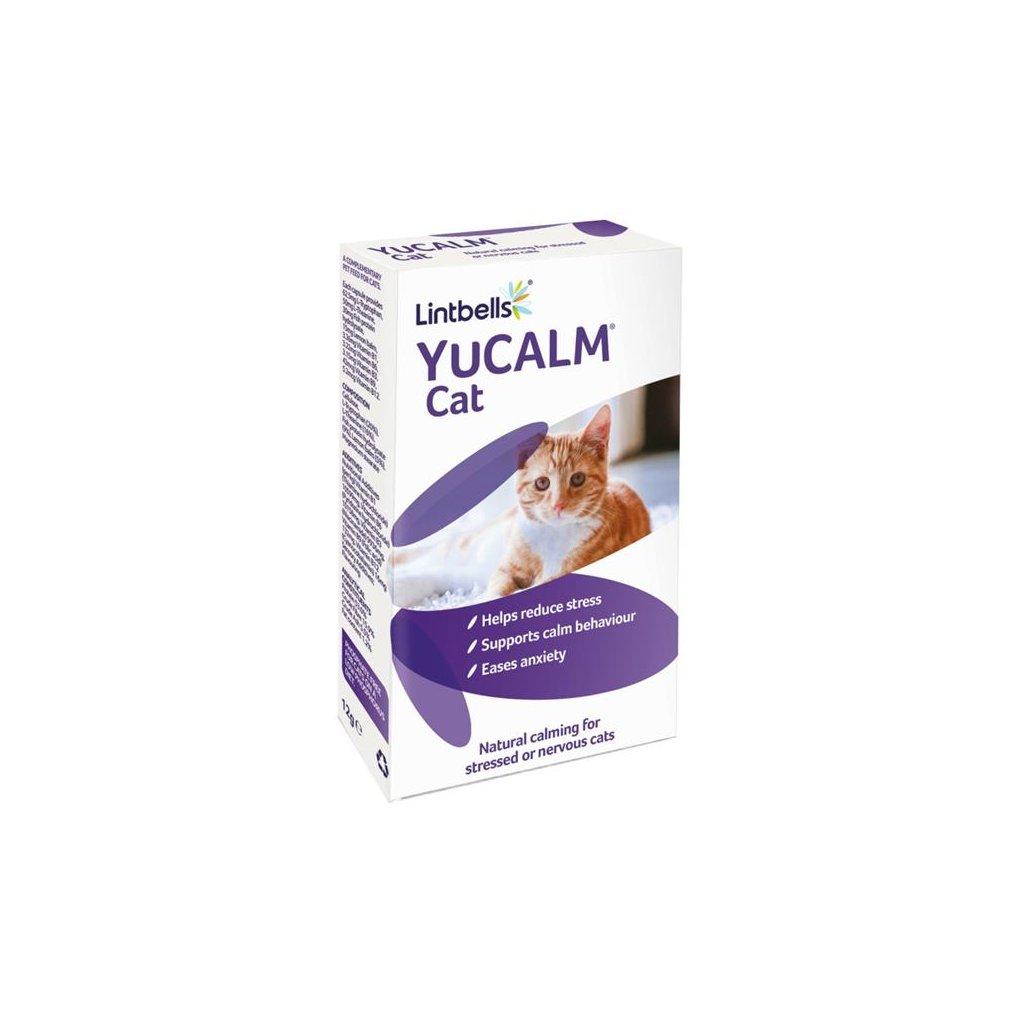 Lintbells YuCALM pro kočky 30 tablet