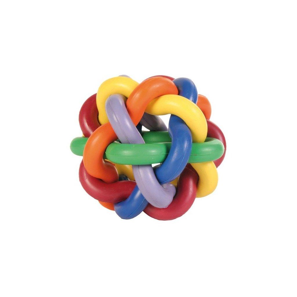 TRIXIE Míč tvrdá guma uzlíkový velký 10cm