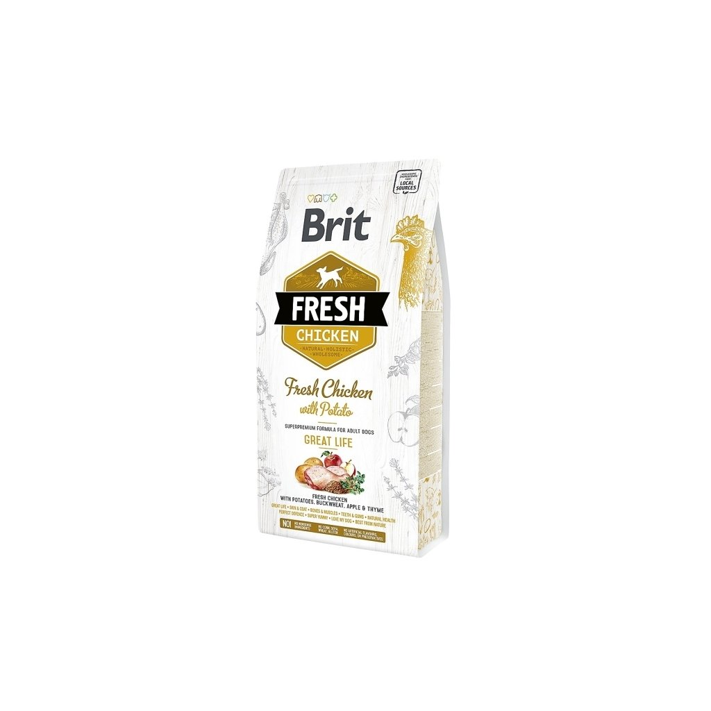 brit fresh adult chicken