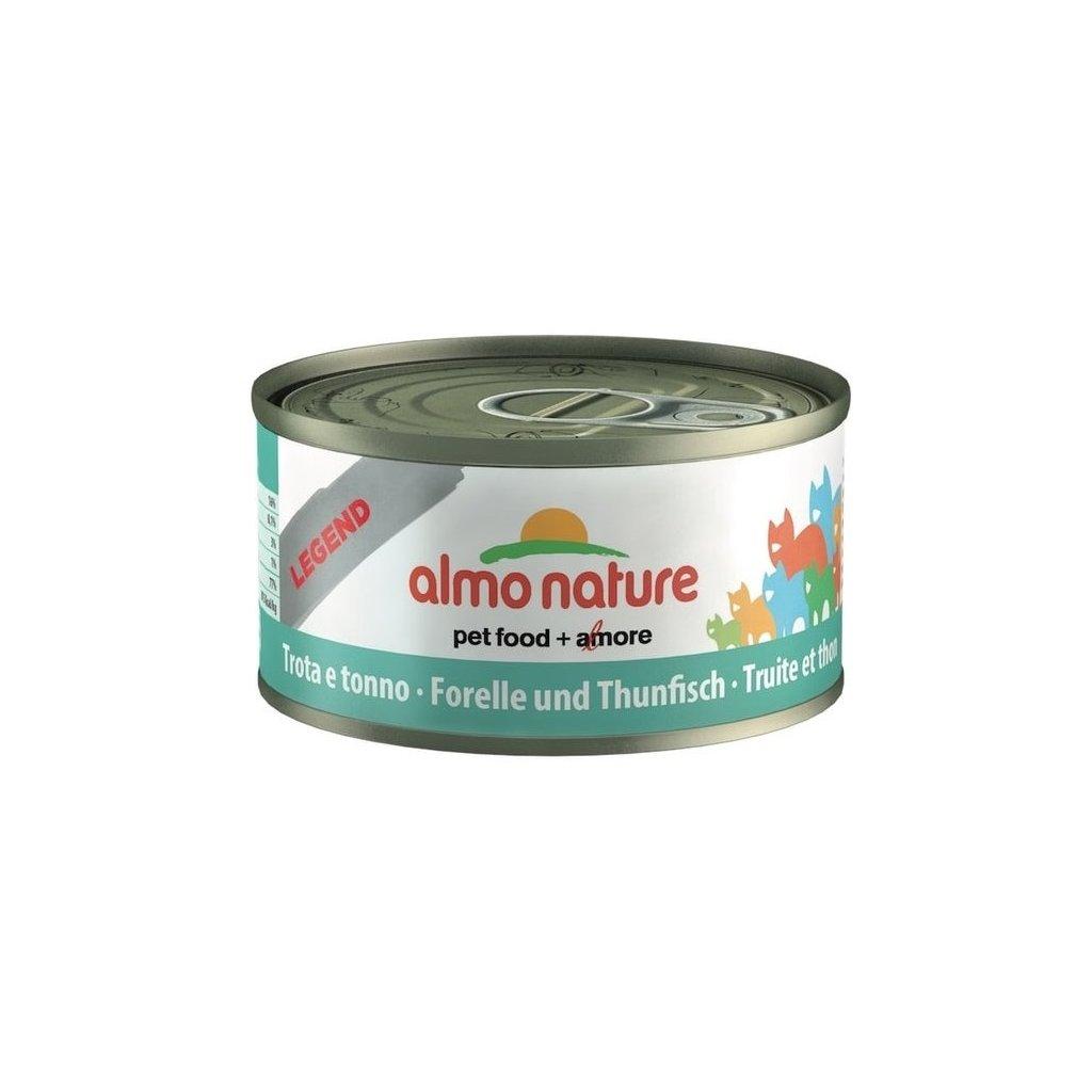 almo nature hfc pstruh a tunak jelly 70g