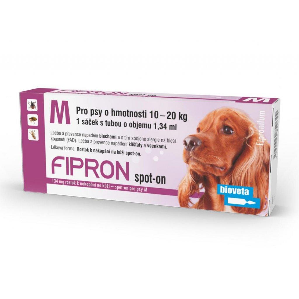 FIPRON Spot-On Dog M sol 1x1,34ml