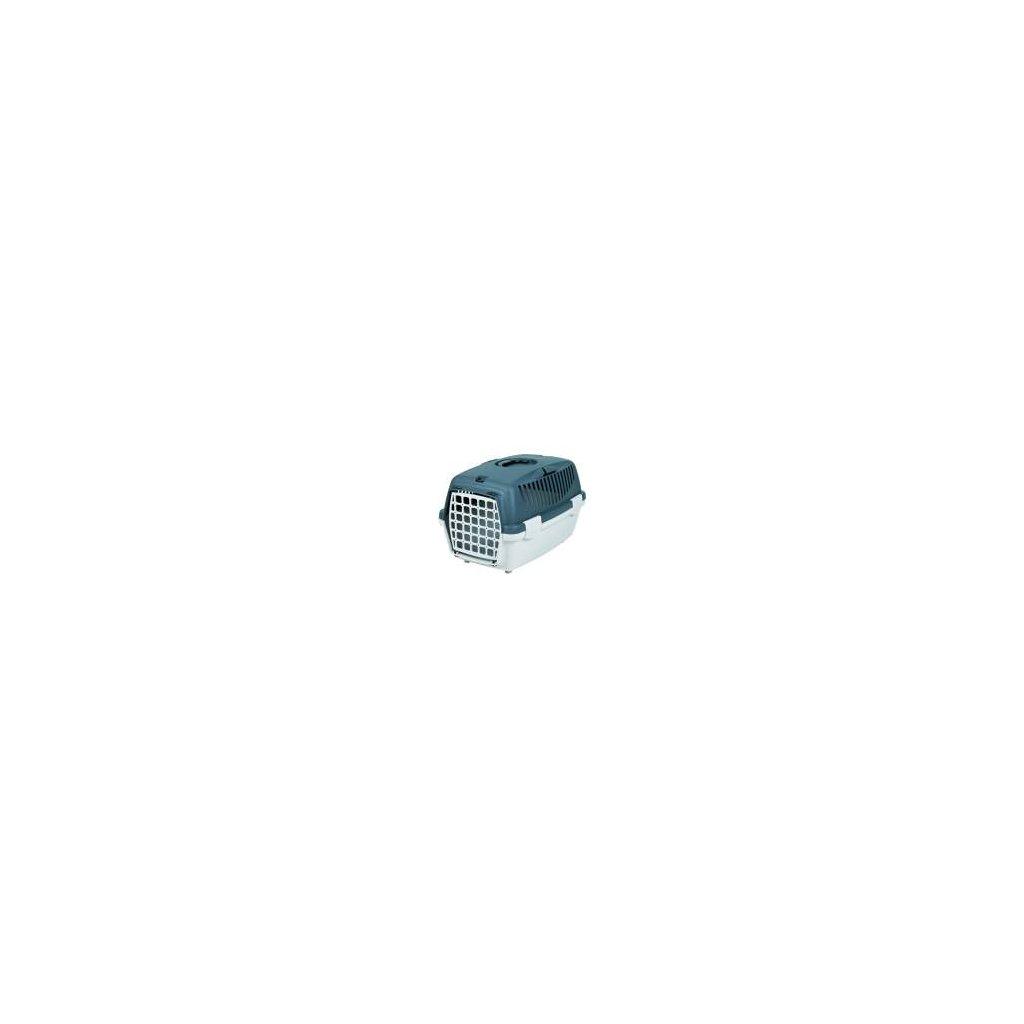 Transportní box CAPRI II 37x34x55cm max.do 8kg - světle šedá/tmavě šedá