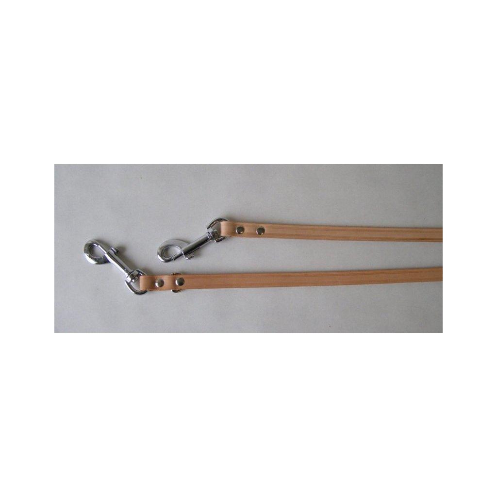 Vodítko přepínací pro jezevčíka 255cm / 1.4cm