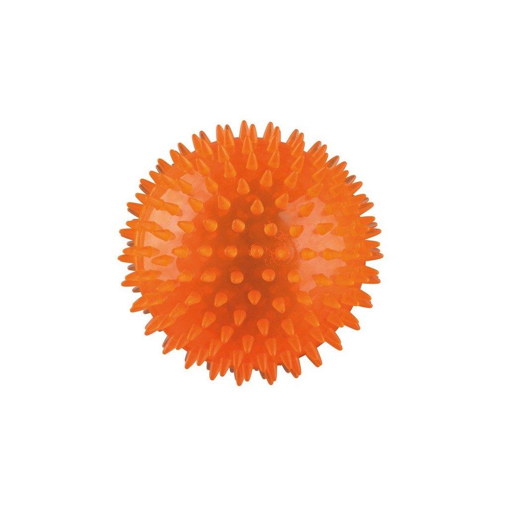 TRIXIE ježatý míček pevný plast (TPR) 8cm