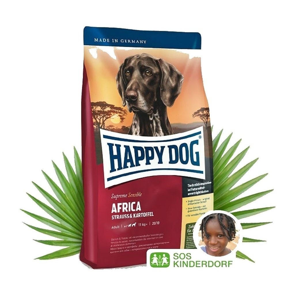 HAPPY DOG Supreme Sensible Africa 4 kg